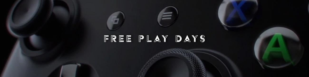 Free Play Days na ten weekend