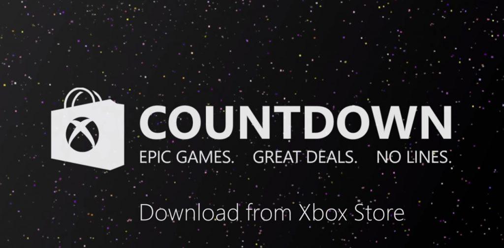 Xbox Countdown Sale 2020