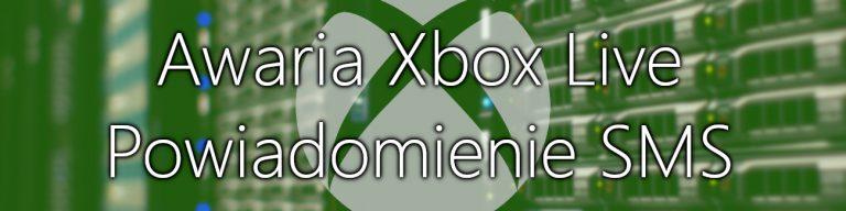 Awaria Xbox Live SMS