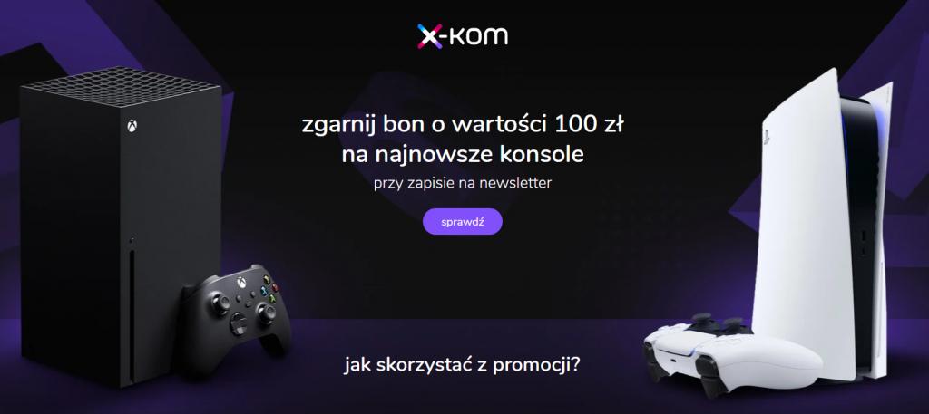 Bon X-kom 100 PLN