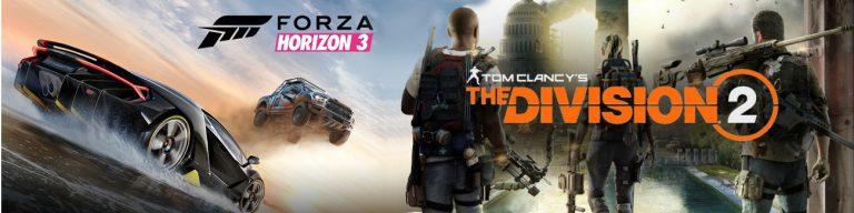 Promocja The Division2 Forza Horizon