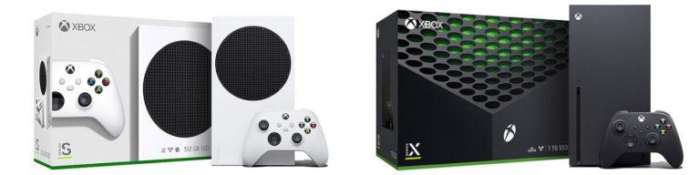 Xbox Series X S Pudełka