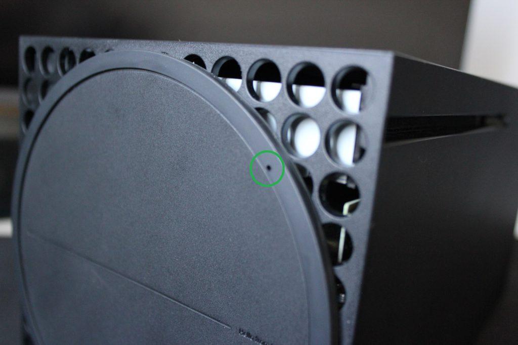 Xbox - Awaryjne wyjmowanie płyty