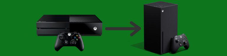 Przenoszenie gier z Xbox One na Series X
