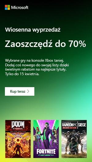 Wiosenna Wyprzedaż 2021 Xbox