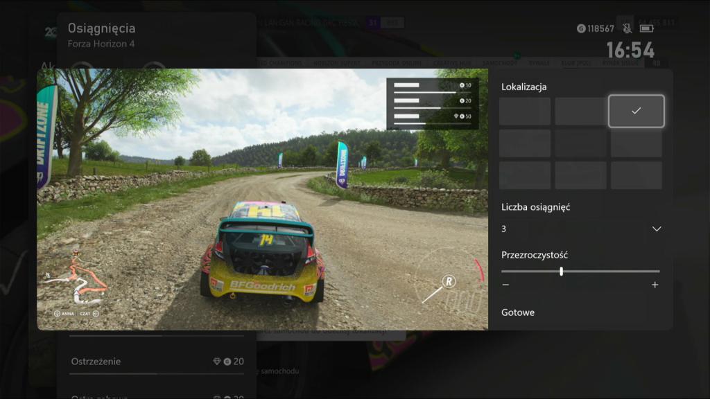 Monitor osiągnieć Xbox