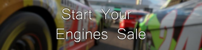 Start Your Engines Sale